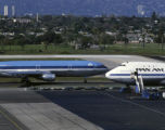 KLM DC-10 preparing for takeoff at LAX