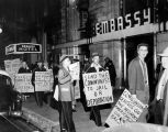 Civil Rights meeting picketed