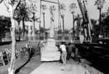 Moving statue to Echo Park, view 10