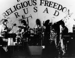 Band at religious freedom crusade
