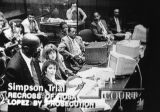 O. J. Simpson trial on television