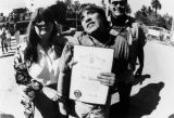 Jose Feliciano with certificate