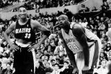 Pippen and O'Neal, Staples Center