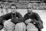 Clipper ball boys, Staples Center