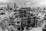 Construction of the new Staples Center