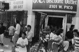 Business being looted in 1992 L.A. riots