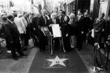 Ray Bradbury receives his star