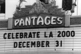 Marquee at the Pantages