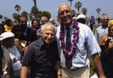 Rosendahl and Braude at Venice beach