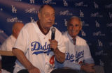 Johnny Podres and Sandy Koufax