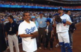 Villaraigosa, Phillips and Weiss, Dodger Stadium