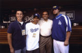 Antonio Villaraigosa and Eric Gagne´, Dodger Stadium