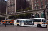 MTA buses in Downtown L.A