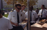 Fire Chief Bamattre, Public Safety Appreciation barbecue
