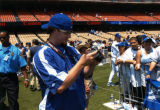 Eric Gagne´ at Dodger Photo Day, Dodger Stadium