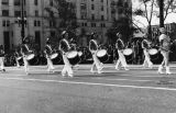 Mei Wah Drum Corps in parade