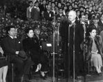 Mayor Bowron and Madame Chiang Kai-Shek