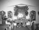 May Kovar's casket
