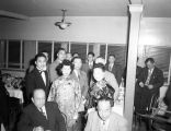 Willie Soo Hoo and bride at wedding reception