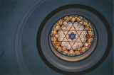 Korean Philadelphia Presbyterian Church, stained glass medallion