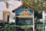 St. Hilary Church of Perpetual Adoration, marquee