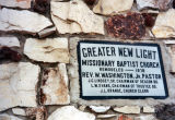Greater New Light Missionary Baptist Church, 2nd cornerstone