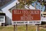 Bella Vista Church of the Brethren, marquee