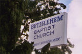 Bethlehem Baptist Church, marquee