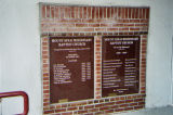 Mount Sinai Missionary Baptist Church, plaques