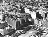 Aerial view, Biltmore Hotel and surrounding area