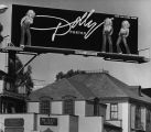 Dolly Parton billboard on Sunset strip