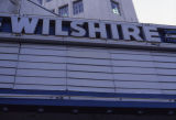 Wilshire Theatre marquee