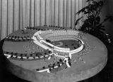Model of Dodger Stadium