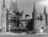 Construction, Grauman's Chinese Theater