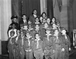 Cub Scouts at City Hall