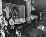 Funeral for Aimee Semple McPherson