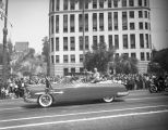 President Truman visits Los Angeles