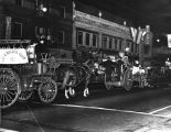 Old fire trucks, Firemen's parade