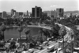 Looking west across MacArthur Park