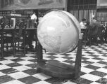 Large globe in History Department