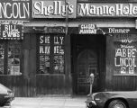 Shelly's Manne-Hole