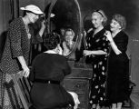 Veteran actresses in their dressing room