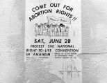 Bill advertising abortion rights