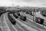 Southern Pacific railroad yard