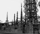 Watts Towers and enclosure
