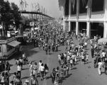 Crowds at the Los Angeles County Fair, view 2