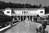 Outer peristyle at Getty Villa