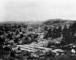 Panoramic view across Lincoln Heights