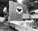 Building the United Farm Workers float