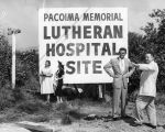 View Pacoima Lutheran Hospital site
